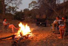 Za Mpl Cosy Fire At Mpala Bush Camp